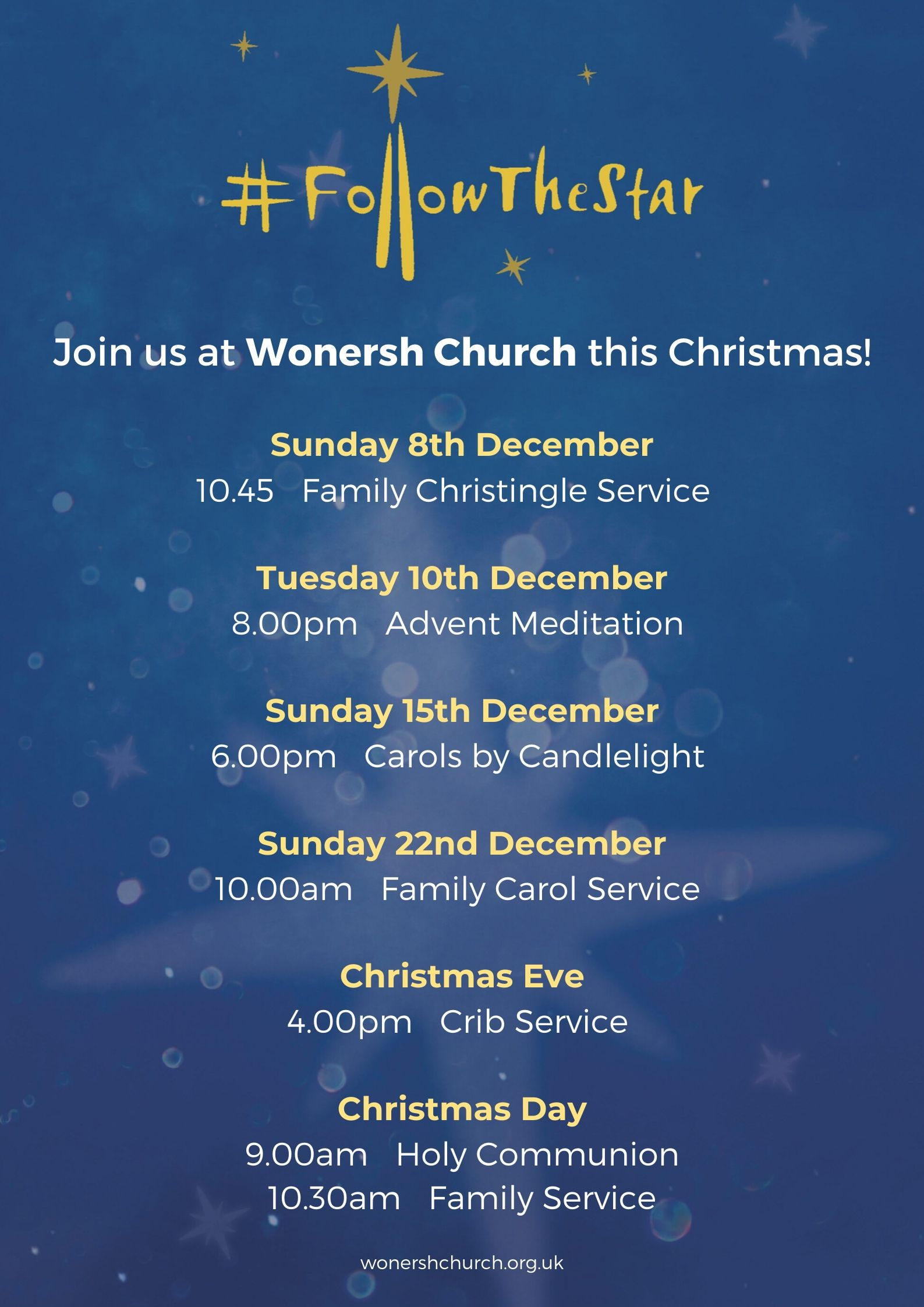 Wonersh Christmas Services